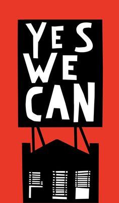 Tom Slaughter. Yes We Can. Bienal del Cartel Bolivia BICeBé® 2013