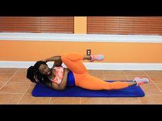 Get a Summertime Waistline! A 15 min AB workout! - YouTube