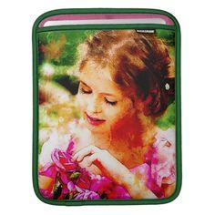 Basket of Roses iPad Sleeve available at Zazzle