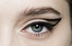 whether you see it as a cat eye or calligraphic eye…. either way, its a line drawn of inspiration!