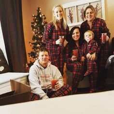 Order your own matching family pajamas like this Christmas plaid design from Snug As a Bug. #snugasabug #matchingpajamas #christmasmagic #christmaspajamas #familyfun #holidaylikeyoumeanit