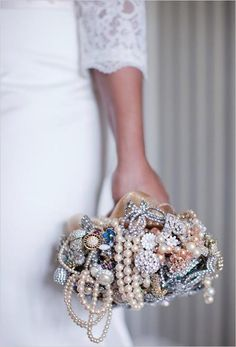 forget flower bouquets... bling it up!