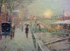 Michel Delacroix : Rue De La Columbe- I bought one of his prints 20 yrs ago , still enjoy looking at it...