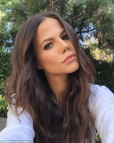 This weeks celebrity is Tammin Sursok! For those of you who may not know her she is Jenna in Pretty Little Liars! Tammin Sursok, Pretty Little Liars, My Girl, Besties, Hair Makeup, Beautiful Women, Make Up, Actresses, Long Hair Styles