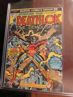 Deathlok #1 and Origin in Astonishing Tales from Marvel available from graphic-illusion.com