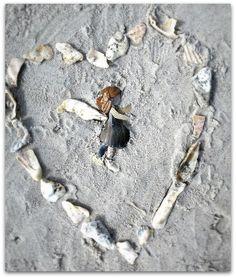 Sea shell fairy on Jacksonville beach