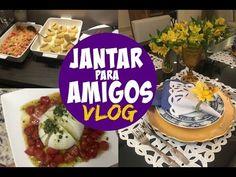 JANTAR ESPECIAL - VLOG RECEBENDO AMIGOS