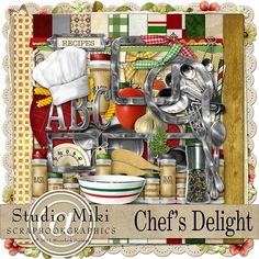 Chef's Delight Page Kit - Studio Miki SBG