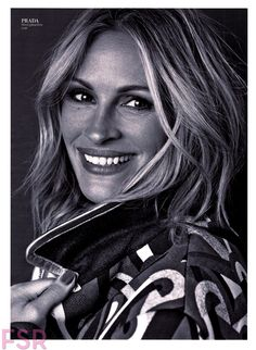 Julia Roberts. InStyle Magazine. September 2014. Photography by Michelangelo Di Battista.