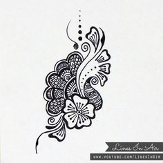 Henna Design/Doodle by LinesInAir.deviantart.com on @deviantART