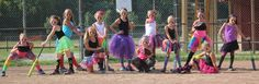 Softball Team Picture 8u Girls Tutus