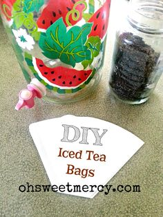 DIY Iced Tea Bags
