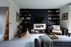 London Homes With Dark Color Palettes | Apartment Therapy