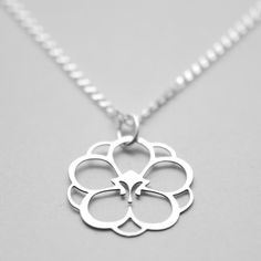Apricot Blossom Petite in Stainless Steel by KimonoReincarnate, $40.00