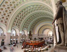Union Station, Washington DC   Renovation Architect: HOK © Andrew Prokos   Archinect