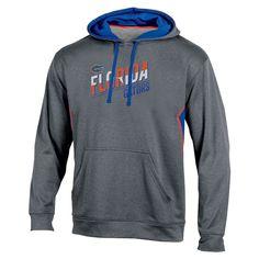 NCAA Men's Lasting Strength Gray Poly Hoodie Hooded Sweatshirt Florida Gators - Xxl, Multicolored