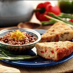 Crispy Cornbread with Sausage And Peppers is sure to get your family to the dinner table in no time!