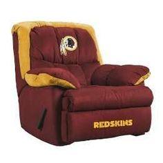 Washington Redskins Recliner