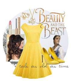 """Beauty and the Beast"" by cinemasweetheart ❤ liked on Polyvore featuring Laredo, Stila, Luv Aj, Emma Watson and Gucci"