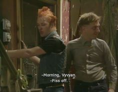 The Young Ones: Vyvyan Basterd (Adrian Edmondson) and Rick (Rik Mayall) British Humor, British Comedy, Old Tv Shows, Movies And Tv Shows, Welsh, Rik Mayall Bottom, Ade Edmondson, Boys On Film, Programming For Kids