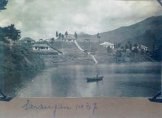 Sarangan 1937. I think this was a popular place to stay.