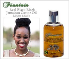 Fountain Real Black Jamaican  Black Castor Oil £9.99
