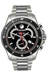 Movado Series 800 Sub-Sea Chronograph Black Dial Men's watch #2600090
