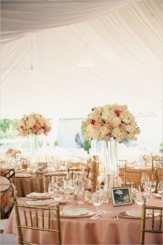 soft and romantic reception ideas @weddingchicks