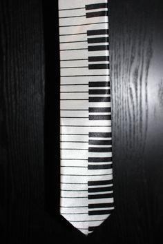 Piano Necktie