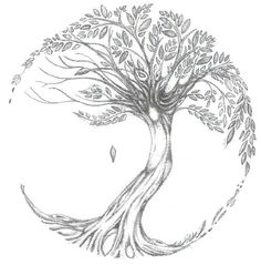 Drawn tree of life