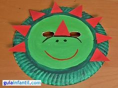 dinosaur mask craft | dinosaur mask craft. looks easy and cute!!