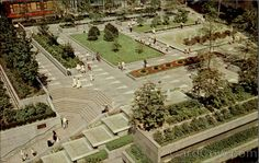 Mellon Square Pittsburgh Pennsylvania