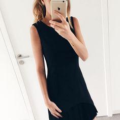 Little Black Dress by @melvinbrussels  #melvinbrussels #ootd #blackdress