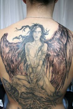 Angel Wings Tattoo meaning and pictures of small angel and devil wings tattoo designs with cross and heart on back, chest, neck, wrist, or lower back. Finger Tattoos, Wing Tattoos On Wrist, Wing Tattoo Men, Tatto Man, Unique Tattoos For Men, Trendy Tattoos, Tattoos For Guys, Cool Tattoos, Halo Tattoo