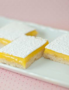 Vegetarian-  Low FODMAP Recipe and Gluten Free Recipe - Lemon bars   http://www.ibscuro.com/low_fodmap_desserts_lemon_bars.html