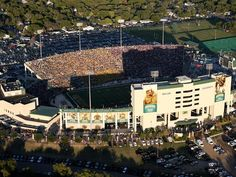 The Baylor Bears play in the Floyd Casey Stadium located in Waco, TX
