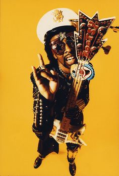 Bootsy Collins - started with James Brown, Parliament/Funkadelic, then Bootsy's…