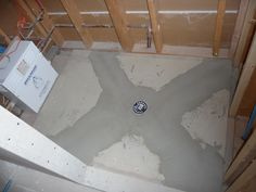 How To Build A Shower Pan Shower Floor Before Installing
