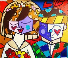 ❤️➰❤️➰❤️➰❤️➰❤️ Decoupage, Contemporary Paintings, Marker Drawings, Pop Art, Ceramics, My Favorite Things, Abstract, Painting Art, Disney Characters