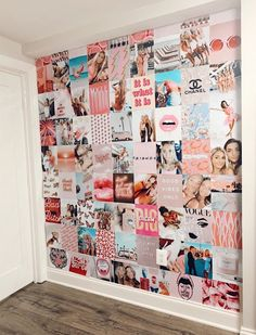 Creds: @ on vsco Cute Bedroom Decor, Teen Room Decor, Room Ideas Bedroom, Bedroom Inspo, Men Bedroom, Photowall Ideas, Bedroom Wall Collage, Cute Room Ideas, Retro Room