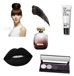 """Sin título #61"" by loveclo on Polyvore featuring Belleza, Lime Crime y Nina Ricci"