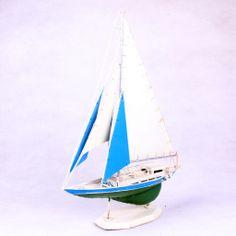 small metal sailboat model, 30cm long Sailboat Craft, Sailing Ships, Metal, Vehicles, Metals, Sailboat, Tall Ships, Vehicle