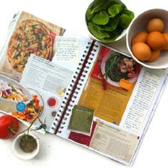 Do you have printed off and cut out recipes scattered all over? This digital scrapbook is the perfect solution.