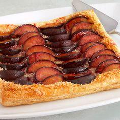 Pepperidge Farm® Puff Pastry - Recipe Detail - Caramelized Plum Tart