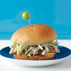 While you enjoy these sandwiches, what's left of your chicken simmers in water, creating stock to use later.