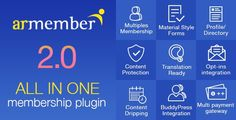 Buy ARMember - WordPress Membership Plugin by reputeinfosystems on CodeCanyon. ARMember is wordpress membership plugin for a One Stop Solution to sell WordPress subscription, user registrat. Website Themes, User Profile, Wordpress, Knowledge, Coding, Free, Programming, Things To Sell, Scripts