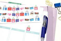 27 Handbag/Purse Stickers Perfect for your Erin by KarolinasKrafts