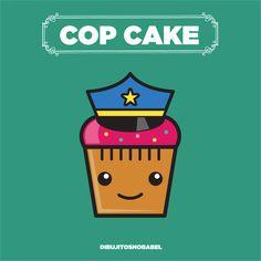 Cop Cake, Cupcake