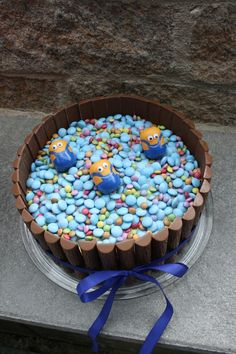 Minions Geburtstagstorte