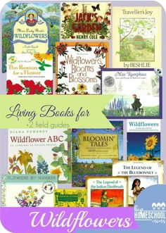 Wildflower Unit Study Living book selection for a wildflower nature study. Teaching Science, Science For Kids, Science And Nature, Science Books, Preschool Science, Creative Teaching, Earth Science, Mr Wonderful, Homeschool Books